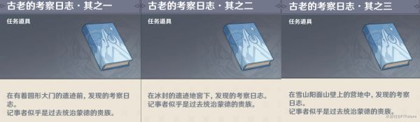 原神覆雪之国图