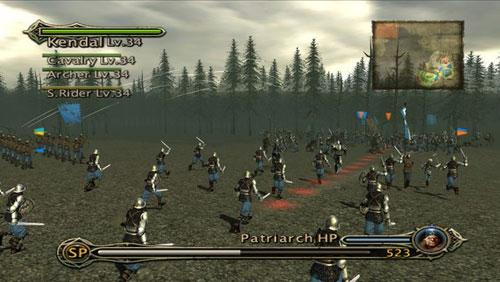 《炽焰帝国:十字军东征》游戏截图