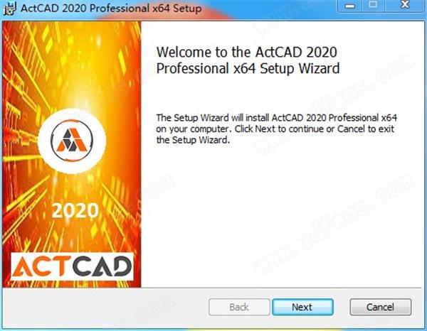 ActCAD 2020 Pro安裝方法