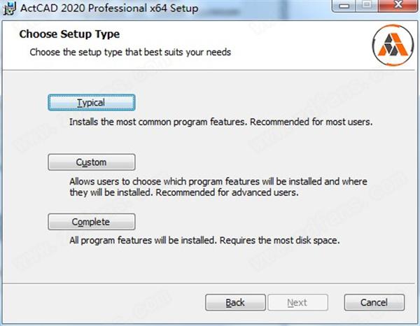 ActCAD 2020 Pro安裝方法2