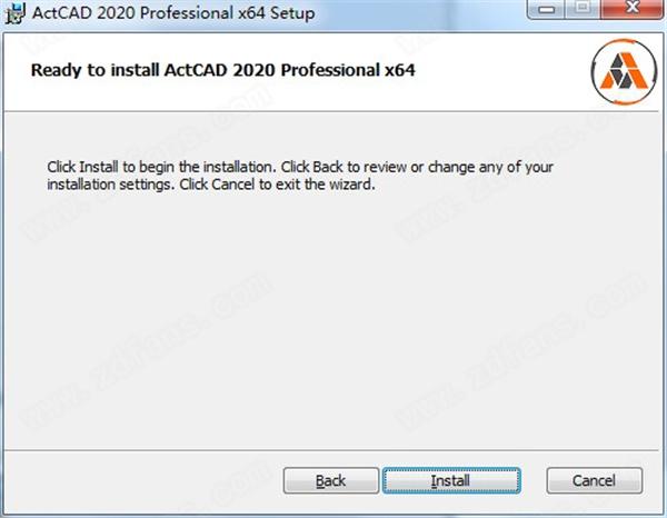 ActCAD 2020 Pro安裝方法3