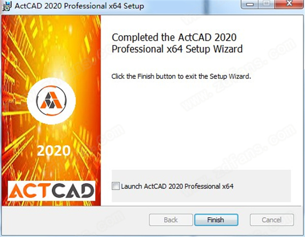 ActCAD 2020 Pro安裝方法5