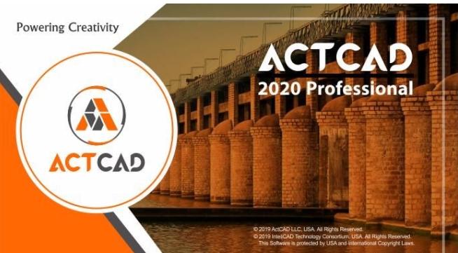ActCAD 2020 Pro圖片