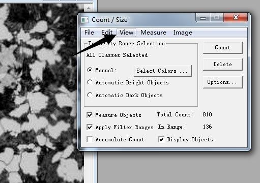 image pro plus測量面積數據導出教程圖片5