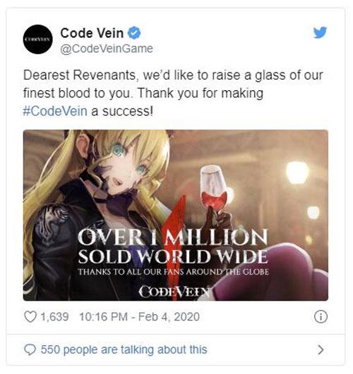 《噬血代码》推特原文