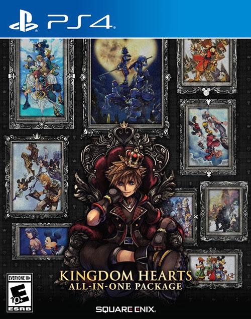 《王国之心》全系列合集PS4封面