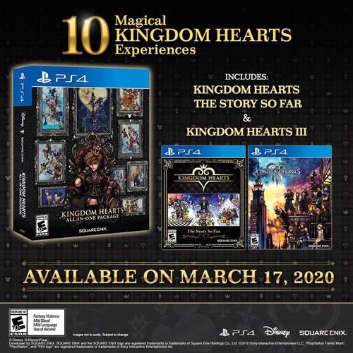 《王国之心》合集登陆日期