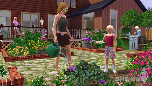 模拟人生3游戏宣传图