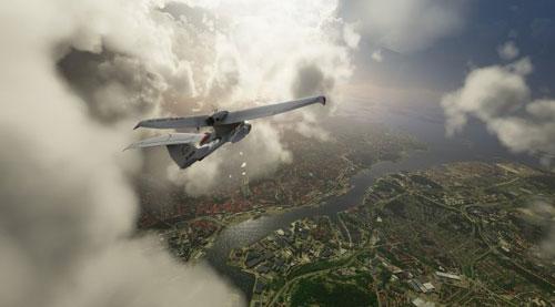 《微软飞行模拟》游戏截图