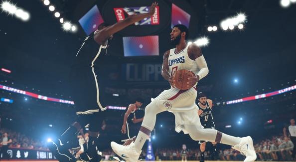 NBA2K19游戏截图