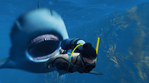 《食人鲨》游戏截图1