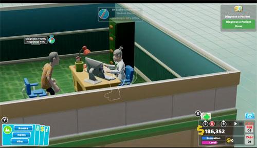 《双点医院》视频截图