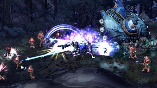 《戴斯班克:雪山地牢》游戏截图