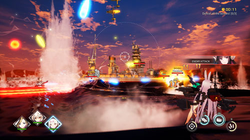 碧蓝航线Crosswave游戏截图