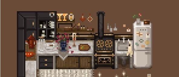 星露谷物语现代厨房和室内装饰MOD截图0