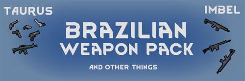 边缘世界Brazilian武器包MOD截图0