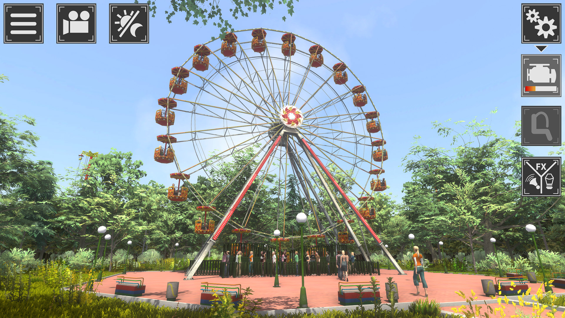 主题公园模拟器截图1