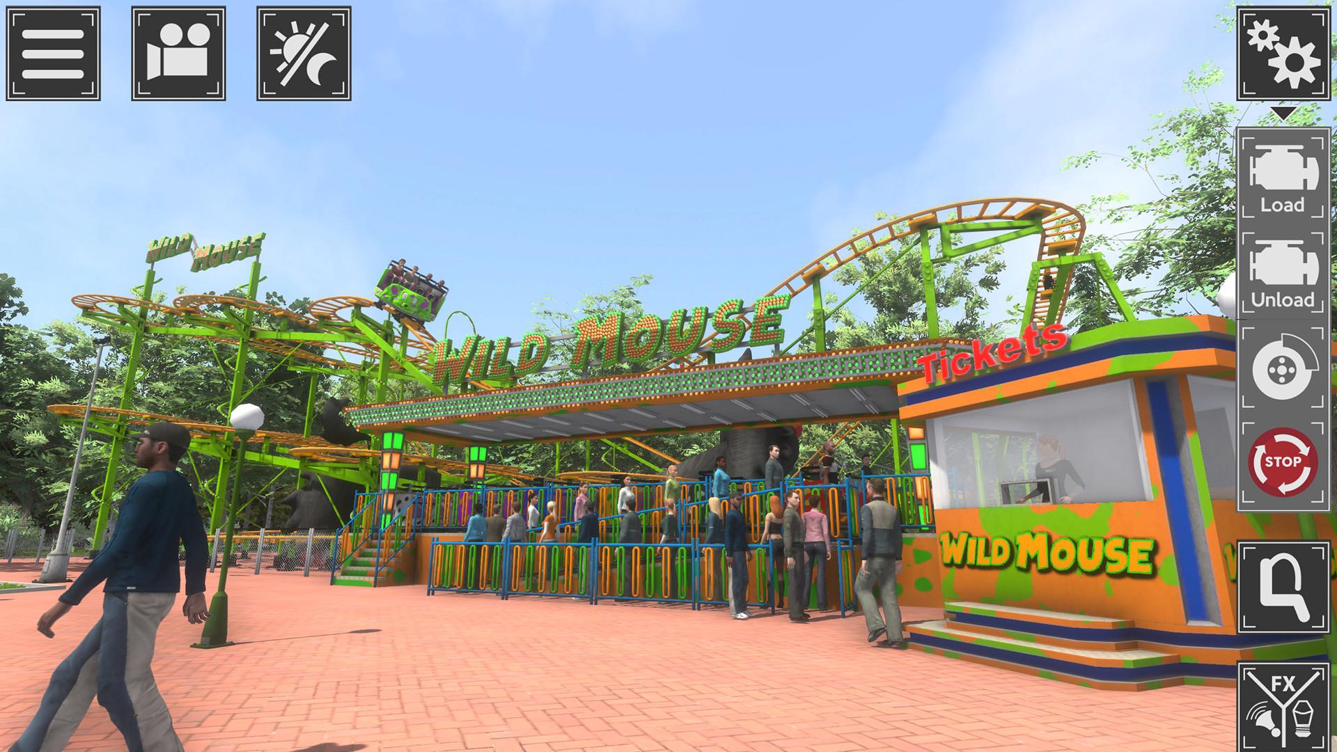 主题公园模拟器截图2