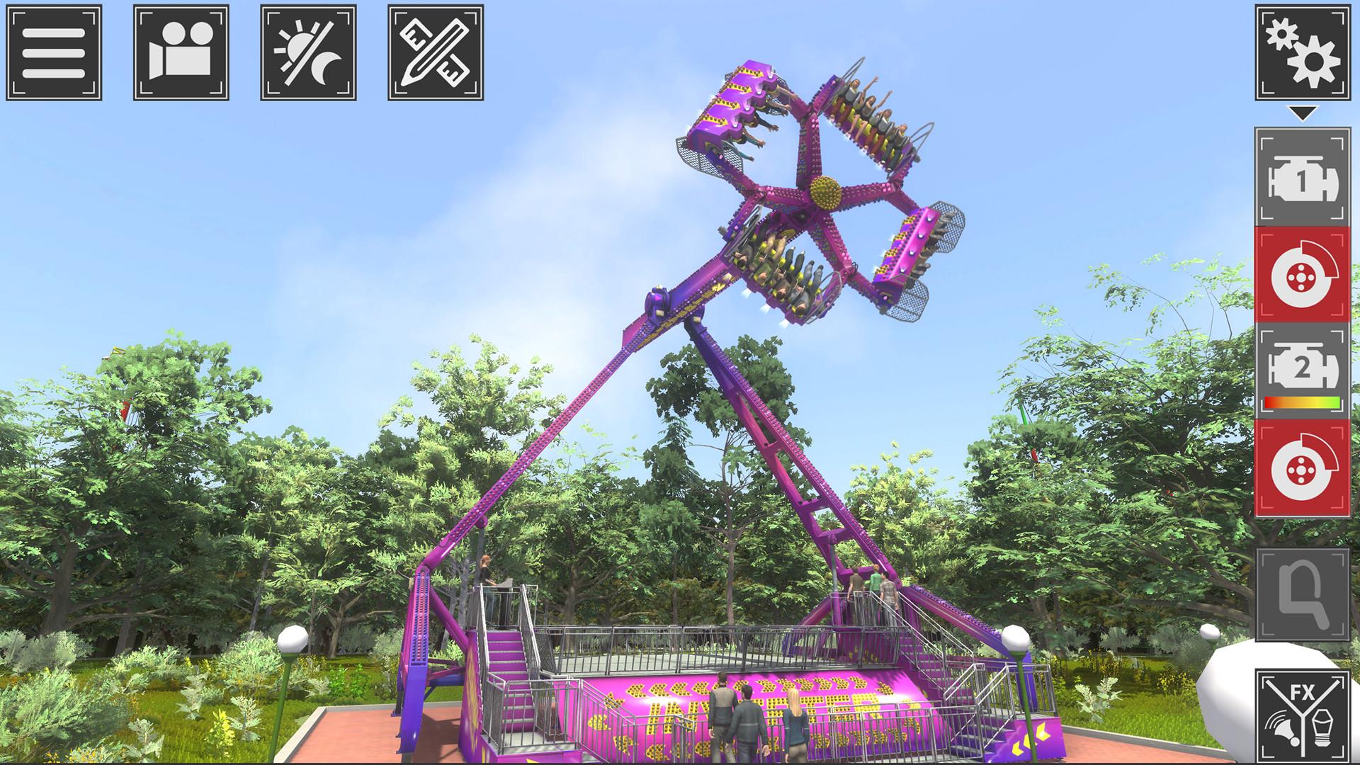 主题公园模拟器截图0