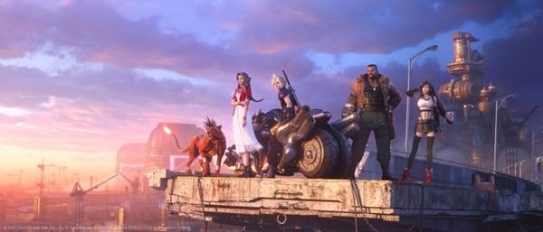 最终幻想7重制版游戏图片
