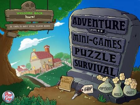 植物大战僵尸1老版本游戏图片2