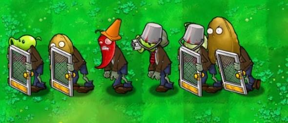 植物大战僵尸β版游戏图片1