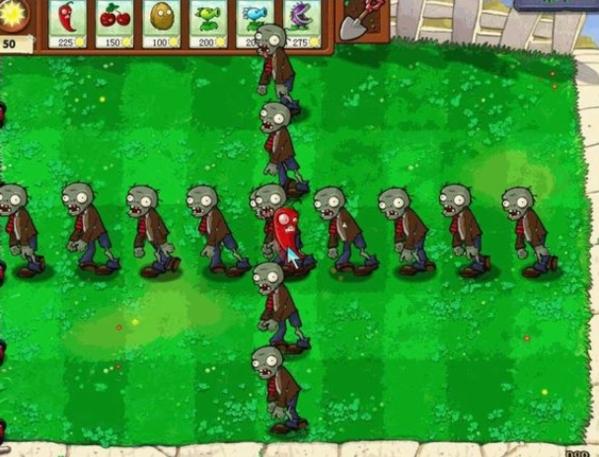 植物大战僵尸β版游戏图片5