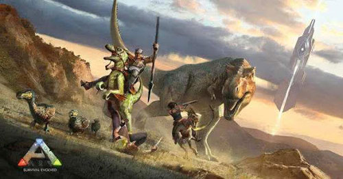 方舟生存进化游戏截图