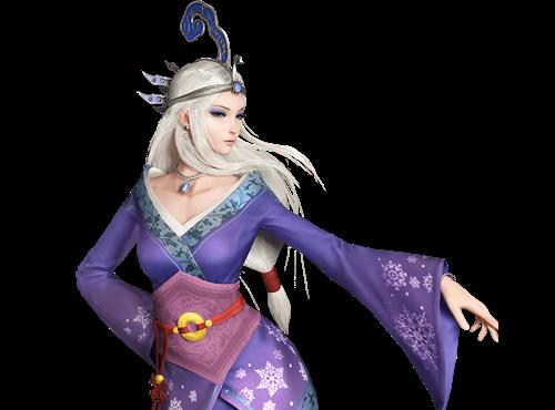 秦时明月世界手游雪女图