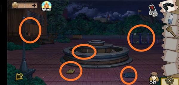 密室逃脱绝境系列11游乐园第八关图文通关攻略3
