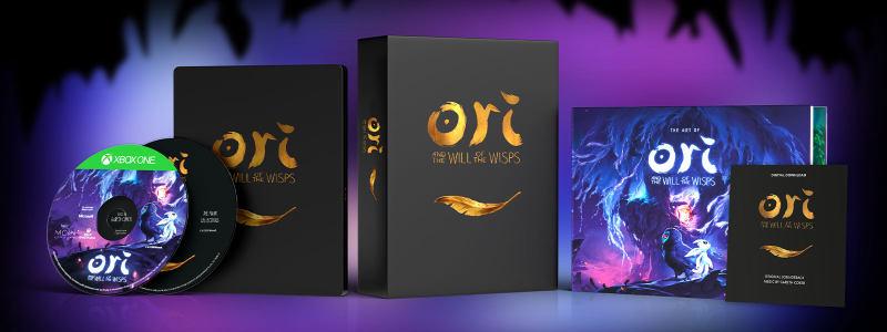 还有两天《精灵与萤火意志》就发售啦!先来看眼收藏版吧