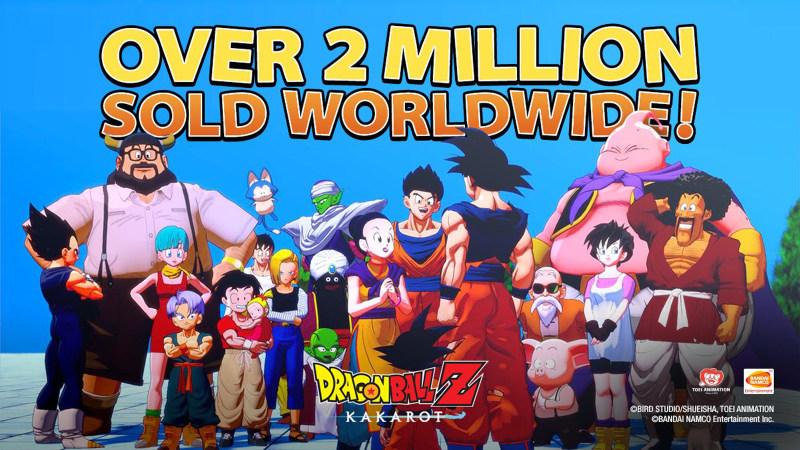 《龙珠Z:卡卡罗特》销量已经突破200万份