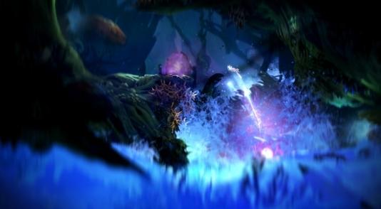 奥日与黑暗森林游戏图片