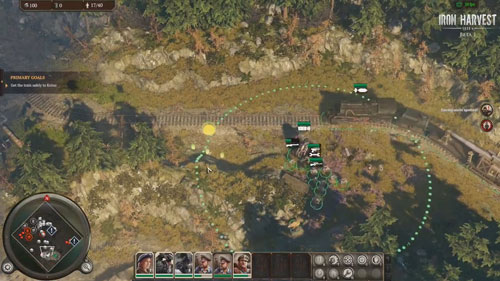 《钢铁收割》游戏截图2