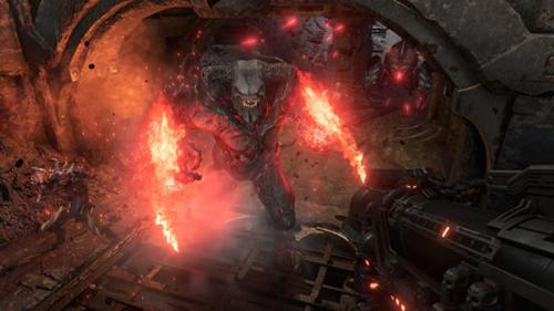 《毁灭战士:永恒》游戏画面