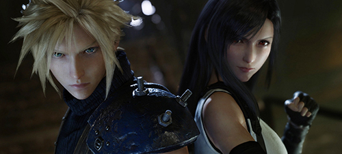 最终幻想7re游戏画面