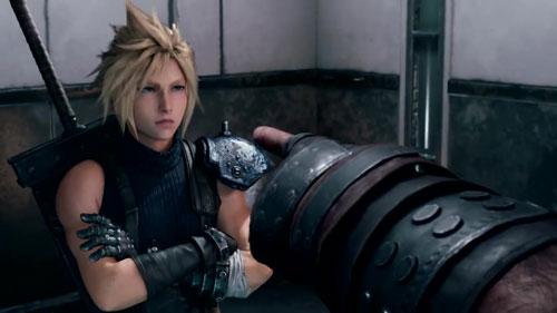 《最终幻想7:重制版》幕后开发视频截图