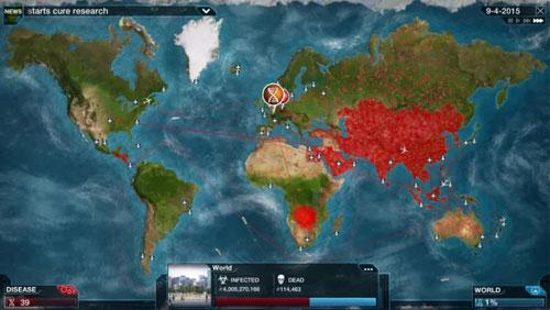 《瘟疫公司》游戏截图2