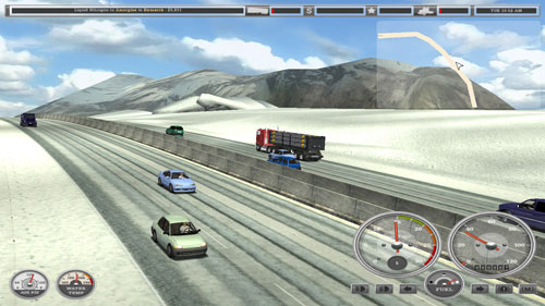 18轮大卡车搬运能手游戏截图