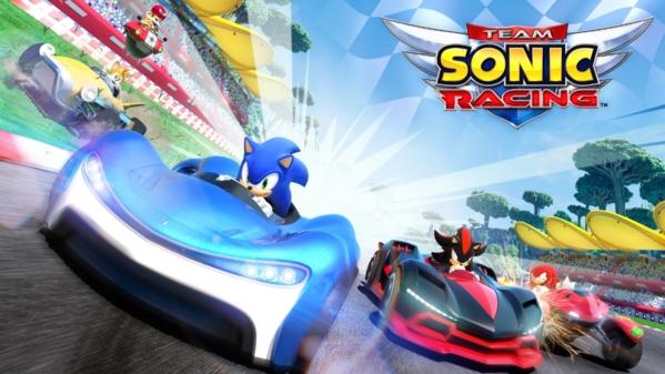 组队索尼克赛车游戏图片
