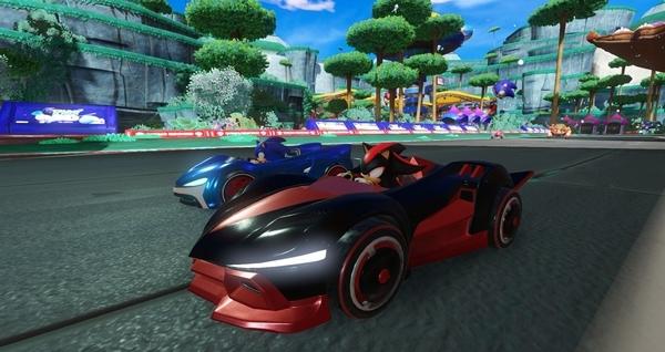 组队索尼克赛车游戏图片1