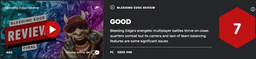 《嗜血边缘》IGN评分