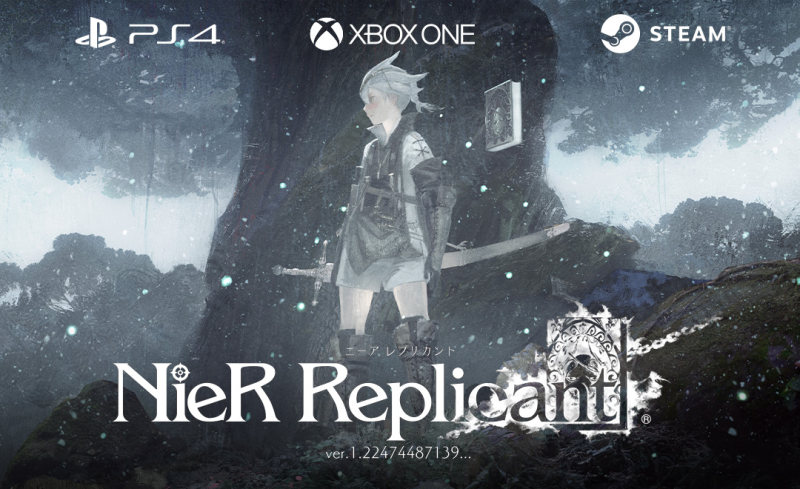 SE宣布《尼尔:伪装者》将登陆PS4,XBOX和STEAM平台