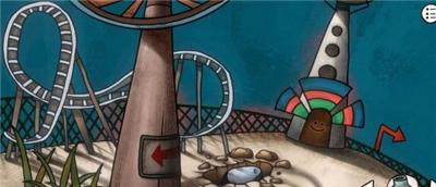 迷失岛前传海边游乐园一周目图