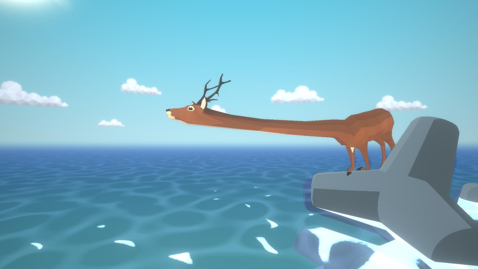 沙雕鹿模拟器截图0