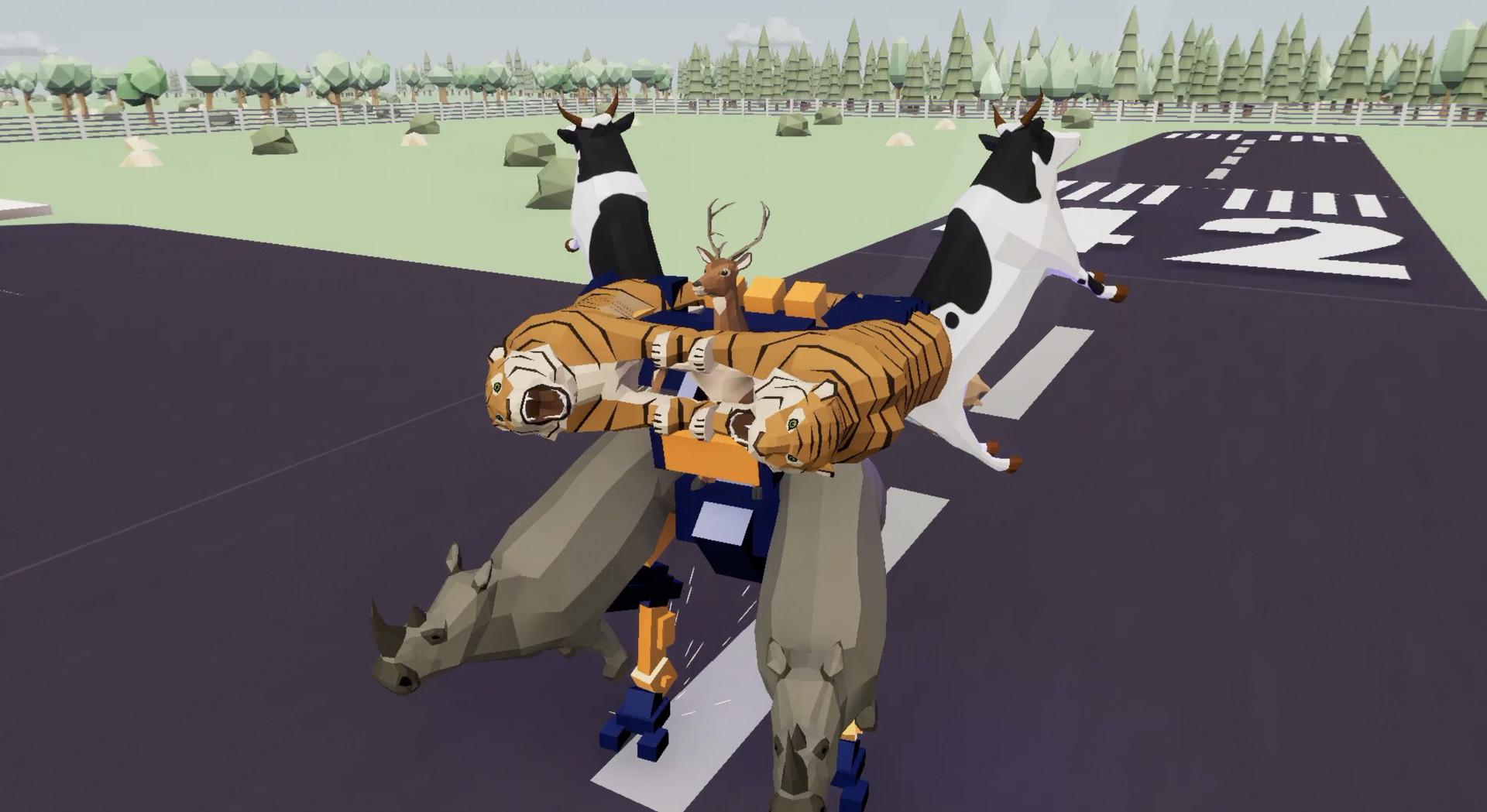 沙雕鹿模拟器截图1