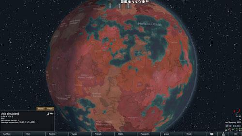 边缘世界红色环世界MOD截图0