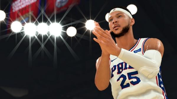 NBA 2K20截(jie)�D2
