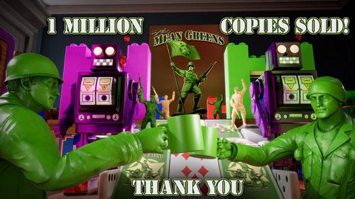 《绿色兵团:塑料战争》游戏截图