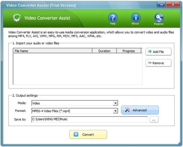 Video Converter Assist�件�D片